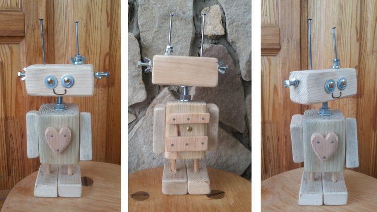 Csináld magad Robot! – ZÖLD ajándék gyerekeknek!