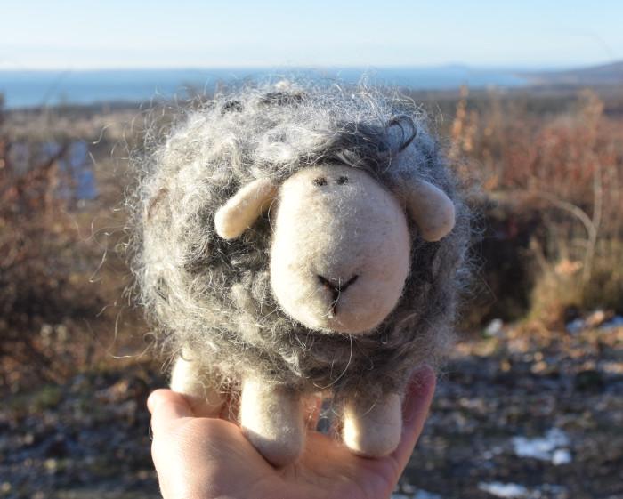 Gyapjú bárány – Nemezötletek