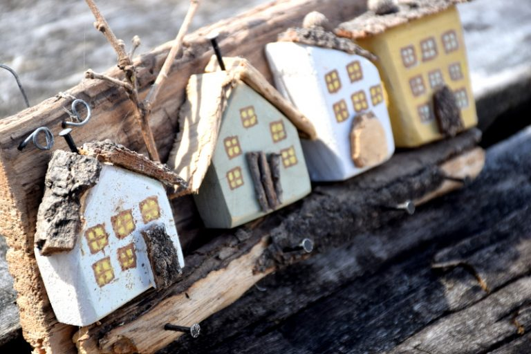 Házikós kulcstartó